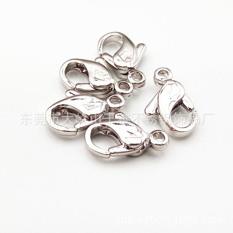 不锈钢天鹅logo龙虾扣